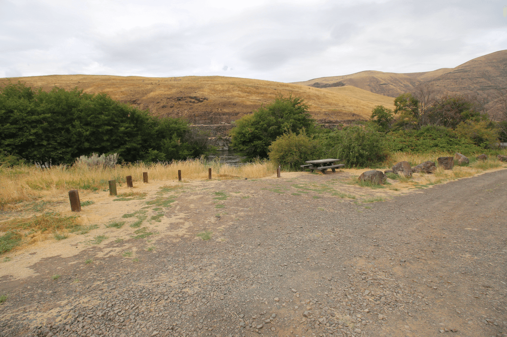 Best Lower Deschutes River Campgrounds - Rattlesnake Canyon Site 4