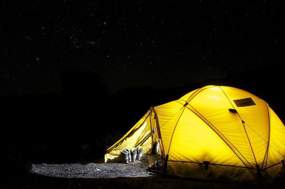 Best Travel Apps For A Camping Trip - Tent