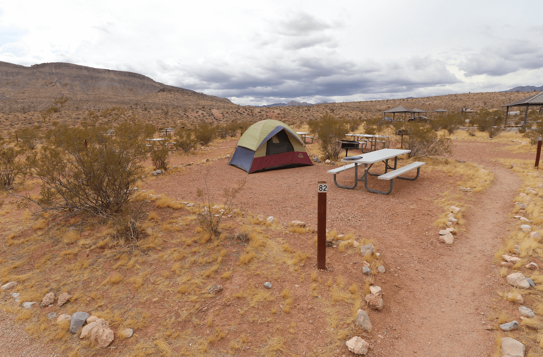 Updated Valley of Fire Campsite Photos - Red Rock Canyon Campsite 82