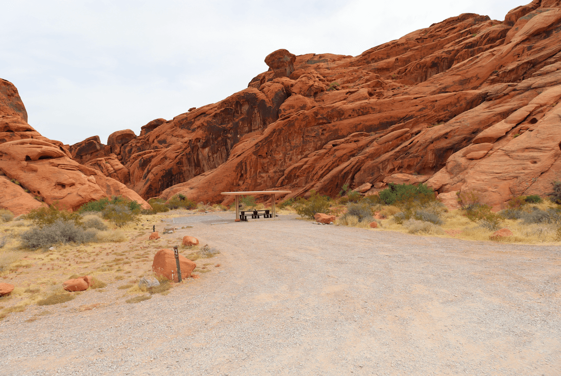 Updated Valley of Fire State Park Campsite Photos - Arch Rock Site 12