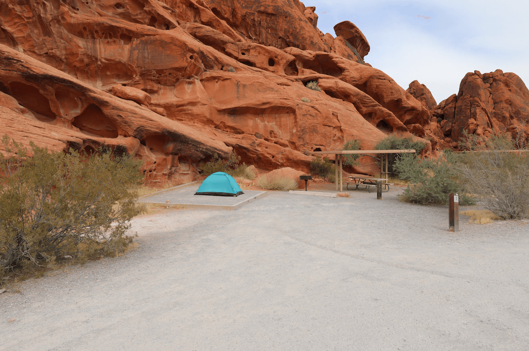 Updated Valley of Fire State Park Campsite Photos - Atlatl Rock Site 3