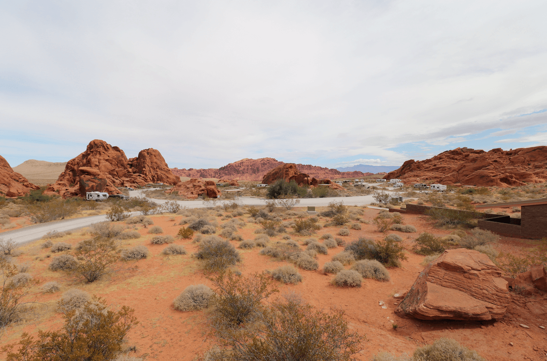 Updated Valley of Fire State Park Campsite Photos - Atlatl Rock Campground