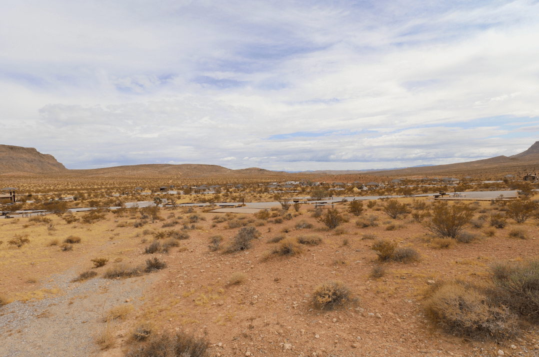 Updated Valley of Fire Campsite Photos - Red Rock Campground View