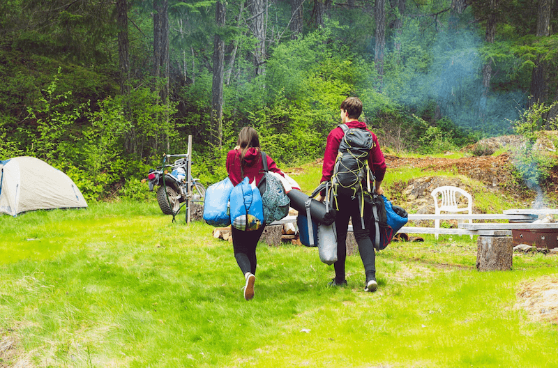 Romantic Camping Trip - Couples
