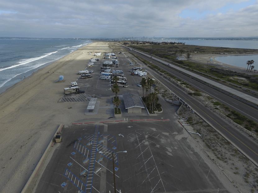 San Elijo State Beach & Silver Strand State Beach - New Photos_Silver Strand Aerial
