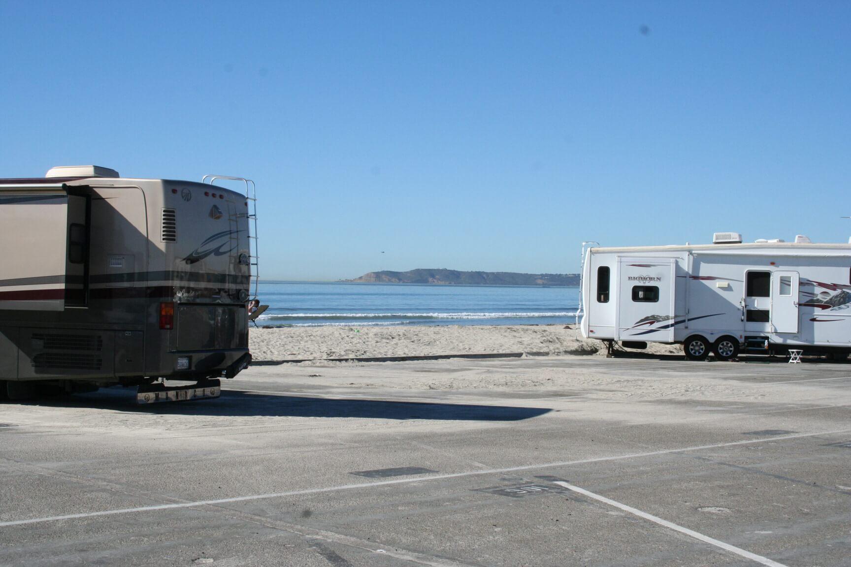 San Elijo State Beach & Silve Strand State Beach - New Photos_Beach Campsite