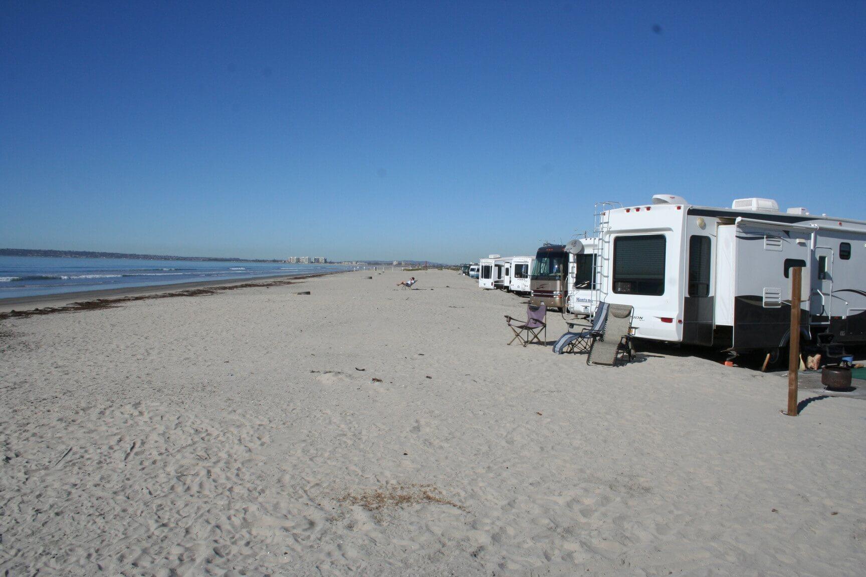 Silver Strand State Beach_Beachfront Campsites