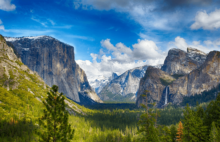 Camping Fever Camping Dreams - Yosemite National Park Valley View