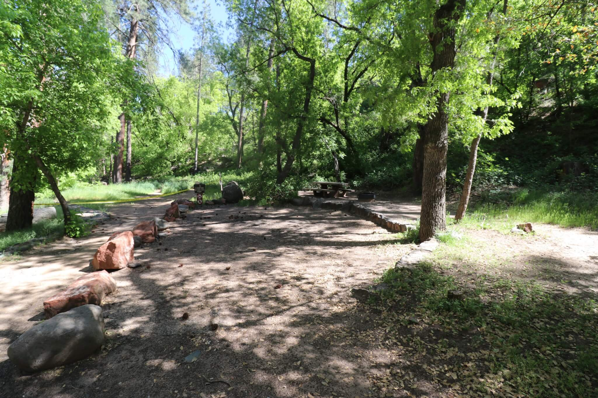 Sedona Area Campgrounds to reopen on May 20, 2020 - Manzanita Site 10
